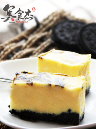 打印可可大理石乳酪蛋糕的做法(美食杰)