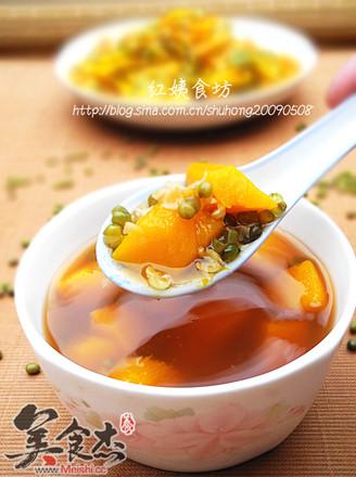 南瓜绿豆汤
