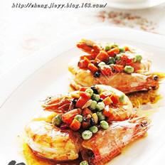 豉香大虾的做法