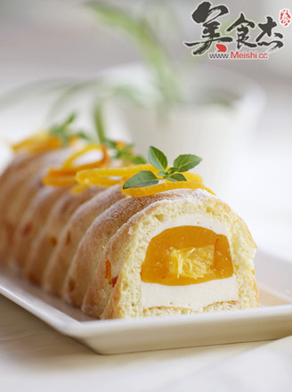香橙乳酪慕斯的做法