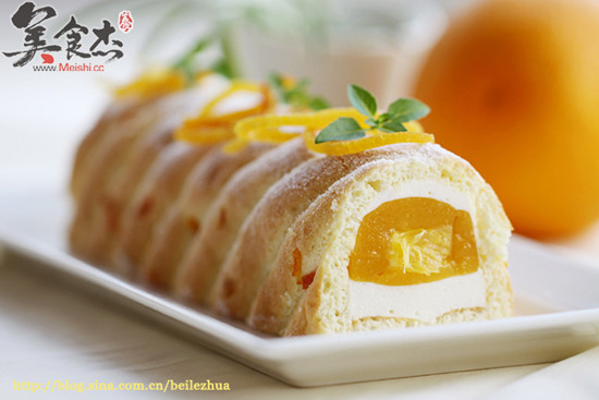香橙慕斯的做法_香橙乳酪慕斯的做法_香橙乳酪慕斯怎么做_美食杰