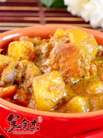 椰子浓香咖喱鸡的做法