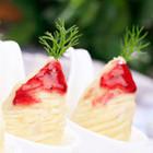 奶香草莓薯泥