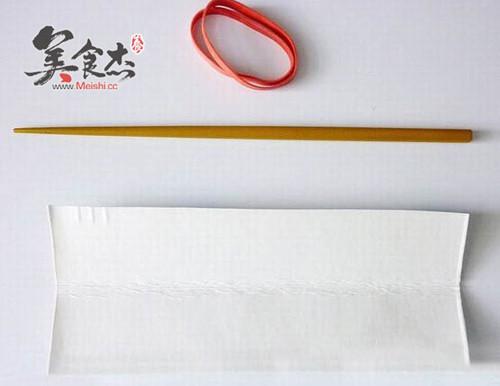 手工筷子制作心步骤