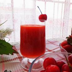草莓樱桃汁的做法