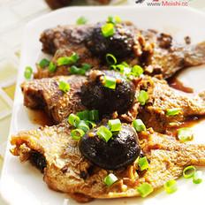 蒜烧香菇鱼