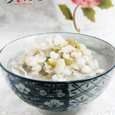 扁豆薏米绿豆粥的做法