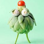 用蔬果创意的小动物