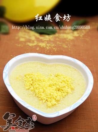 蛋黄小米粥