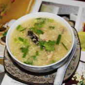 小麦胚芽鱼片粥的做法