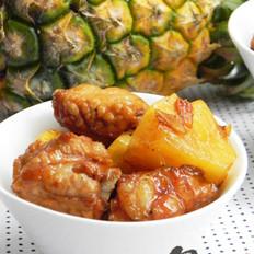 蜜汁菠萝排骨