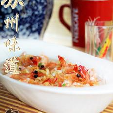 蒜香开片基围虾的做法