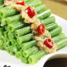 蒜香腐汁豆角的做法