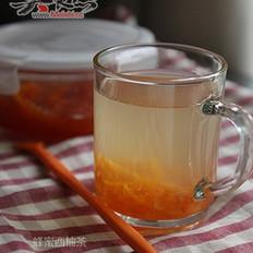 自制蜂蜜西柚茶