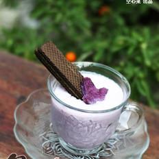 紫薯冰激淋奶昔