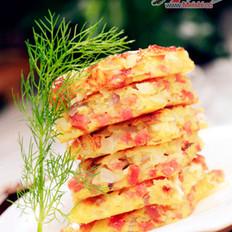 香肠土豆饼
