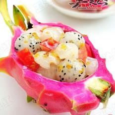 桂花雜果沙拉的做法