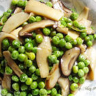 青豆烩双菇
