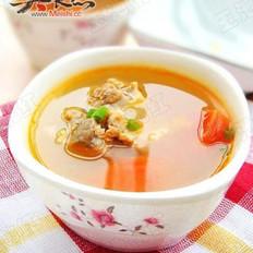 西红柿排骨汤的做法