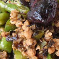 肉末橄榄菜四季豆