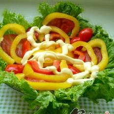 绚彩蔬菜沙拉的做法