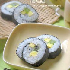 绿茶水果寿司的做法