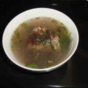 龙须菜猪骨汤