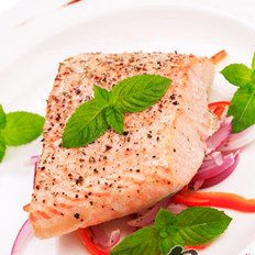 香烤三文鱼的做法