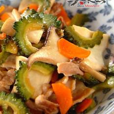 香煎培根玉凉瓜的做法