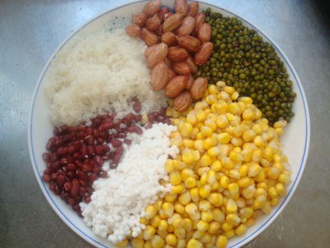 五谷杂粮饭的做法
