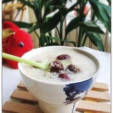 红枣炒米粥的做法
