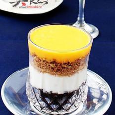 芒果乳酪杯的做法