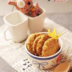 燕麦高纤饼
