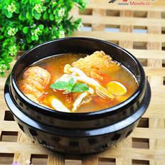 海鮮鍋巴湯