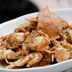 沙茶酱炒海蟹