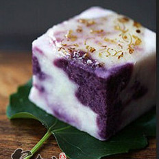 糖桂花紫薯山药的做法