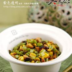辣炒空心菜
