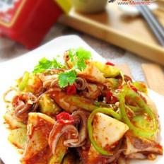 韩式凉拌墨斗鱼的做法