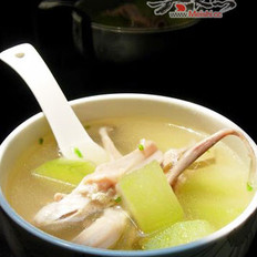 鸭舌海带冬瓜汤的做法