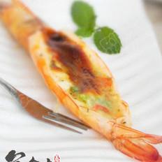 蒜蓉芝士虾的做法