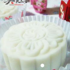 牛肉栗蓉豆沙椰奶冰皮月饼的做法