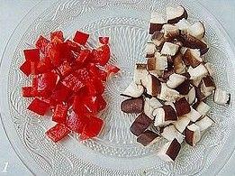 清炒豌豆香菇的做法