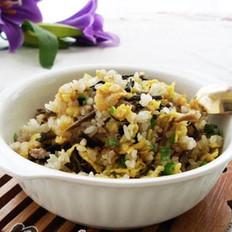 梅菜肉末炒米饭