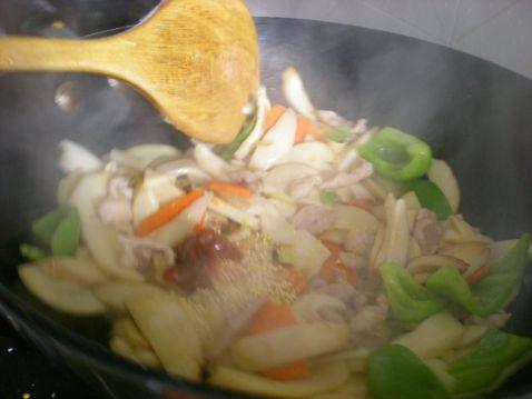 小炒杏鲍菇 美食做法 第6张
