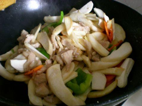 小炒杏鲍菇 美食做法 第5张