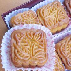 豆蓉月饼的做法