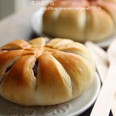 花形豆沙包
