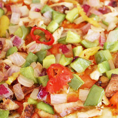 烤鸡披萨的做法