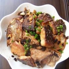 豆豉焖青鱼的做法