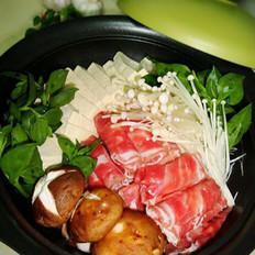 豆腐肥牛锅的做法